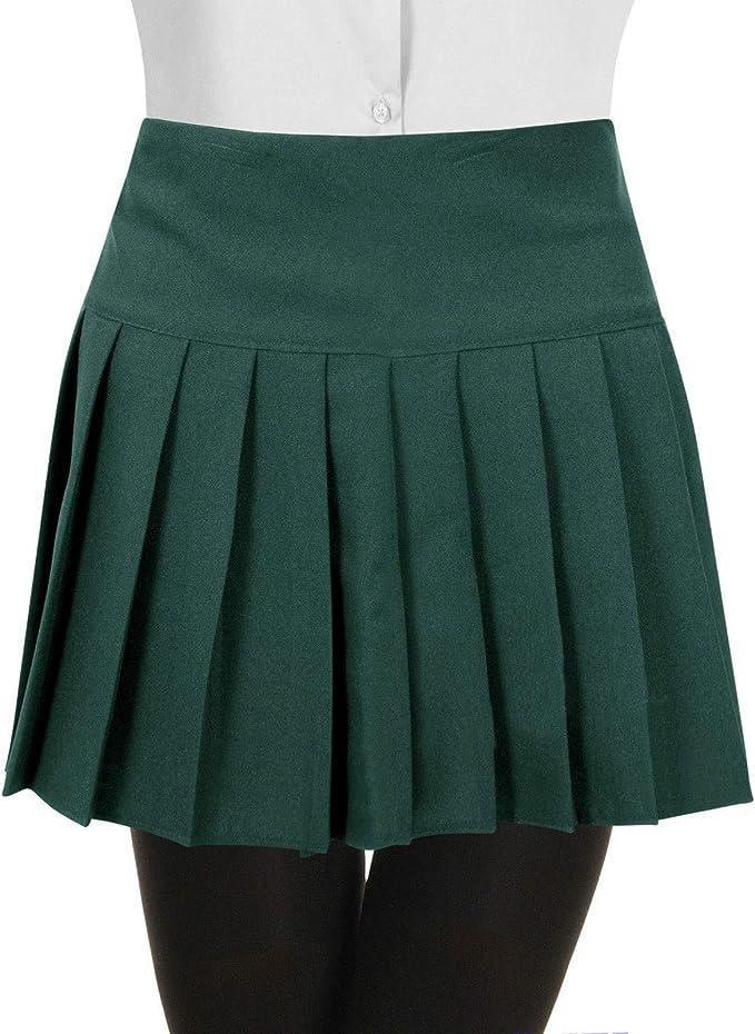 HOTSHOT - Falda de colegio para niñas y niños, plisada con ...