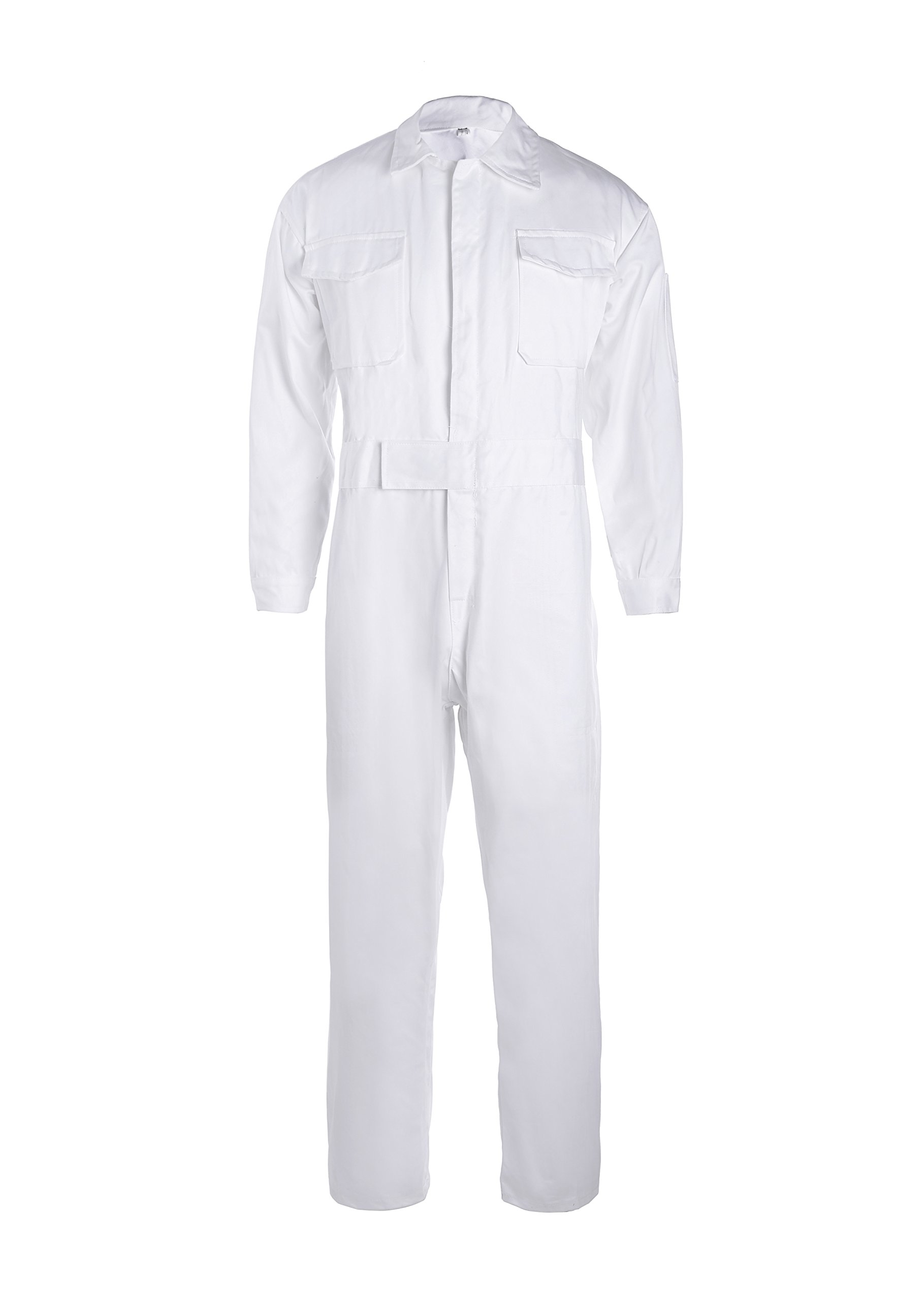 XinAndy White Cotton Work Coverall (L)