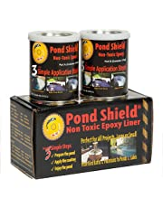 Pond Armor SKU-Gray-QT-R Non-Toxic Pond Shield Epoxy Paint, 1.5-Quart, Gray