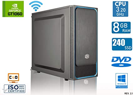 CEO Zeta V1 - PC Gaming AMD 200GE 3.20GHz 4MB Cache | 8GB ...