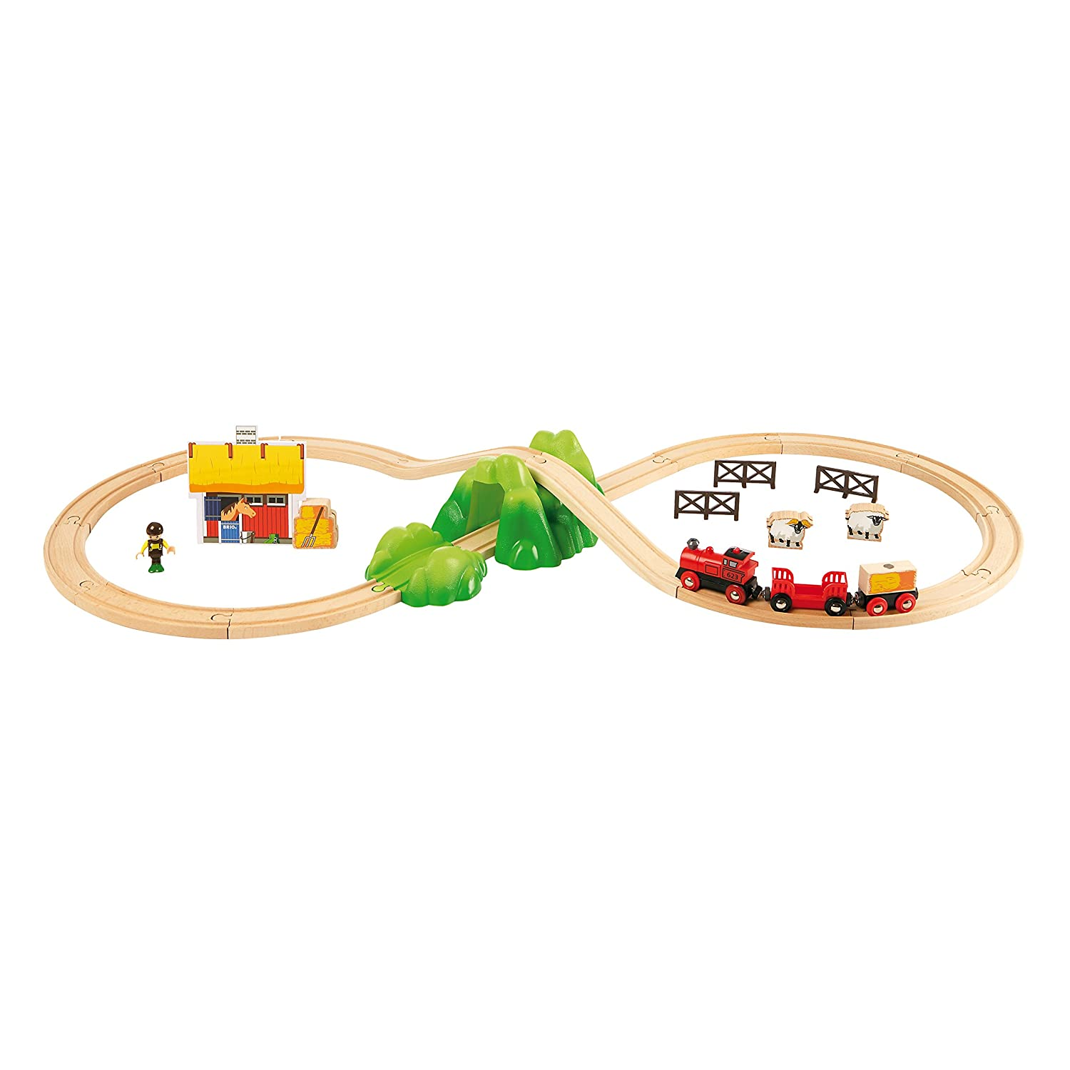 BRIO 33043 Fun on the Farm Starter Set
