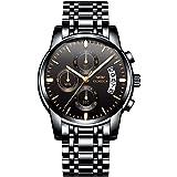 OLMECA Men's Watches Sport Army Fashion Military Wristwatches for Men Waterproof Chronograph Calendar Date Quartz…