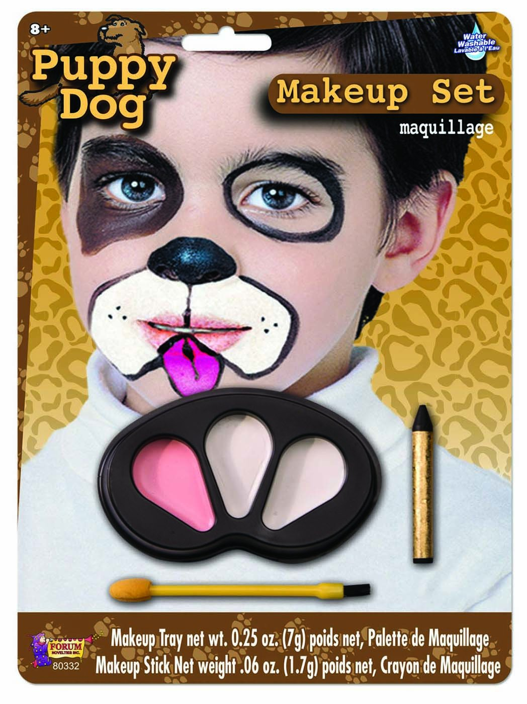Maquillage Halloween Hello Kitty.Amazon Com Forum Novelties Puppy Dog Makeup Kit For Children