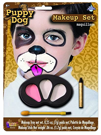 amazon com forum novelties puppy dog makeup kit for children