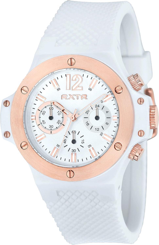 LTD Watch Unisex-Armbanduhr Chronograph Quarz Silikon weiß LTD - 310102