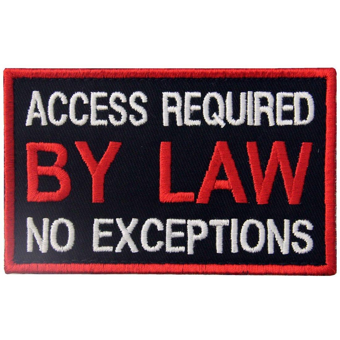 EmbTao Cane di Servizio Gilet/Imbracature Accesso richiesto dalla Legge Nessuna eccezione con Fissaggio Chiusura a uncino e asola Ricamata Toppa
