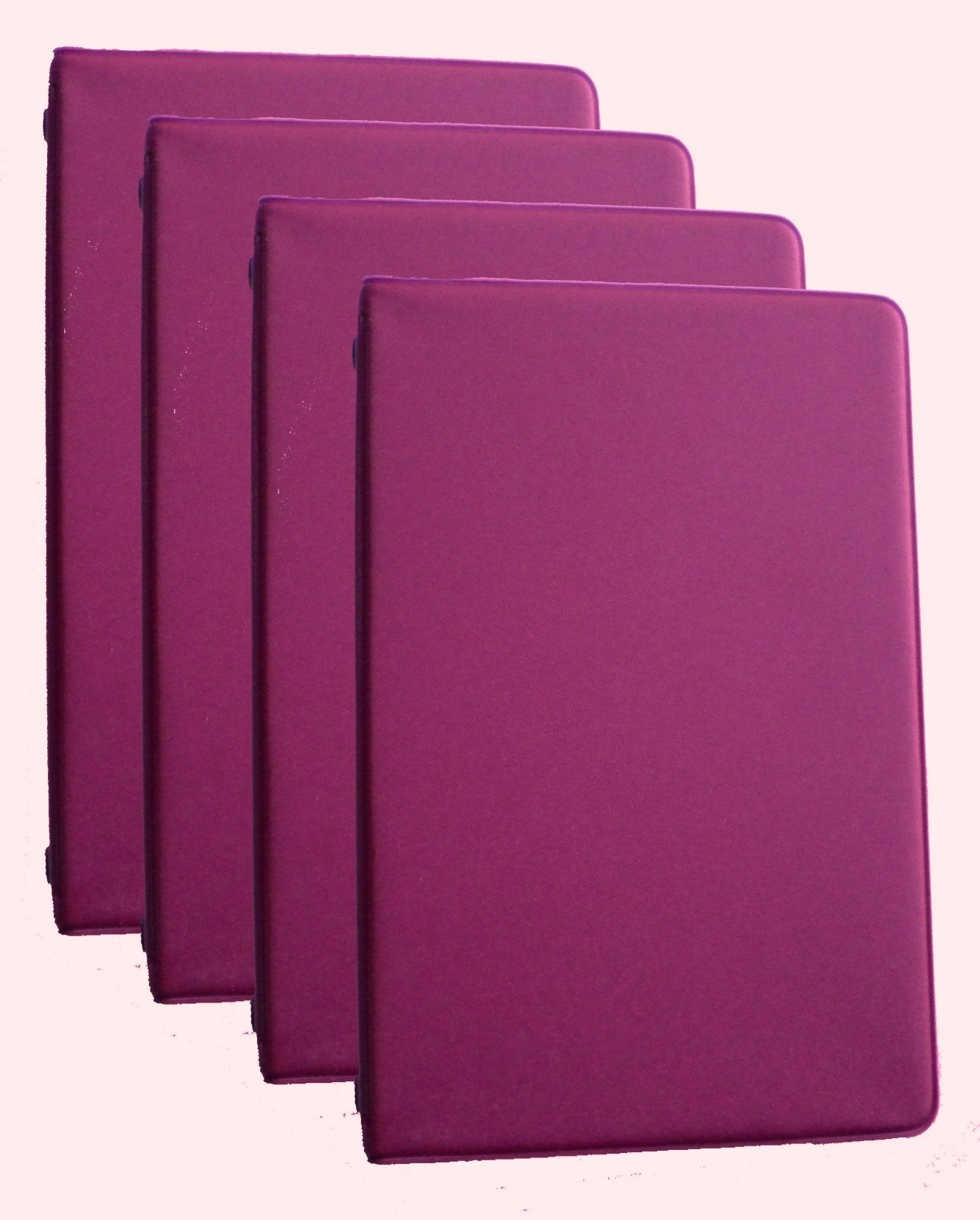 Mead 46034-BY Mini 6-Ring Burgundy Memo Books with 6 3/4 x 3 3/4-inch Lined Paper, 4-PACK