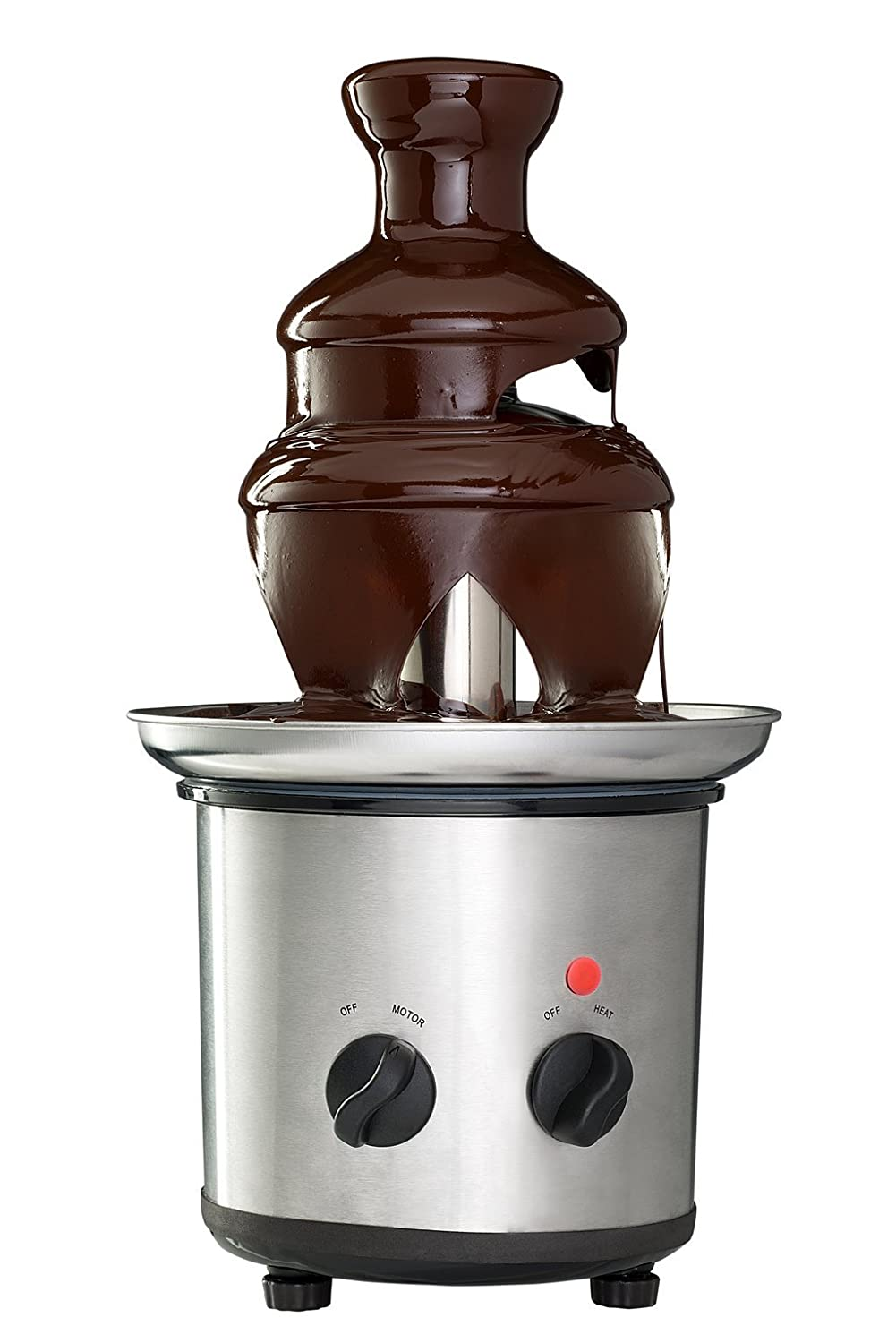 Sagler 3 Tier Chocolate Fountain machine Stainless Steel