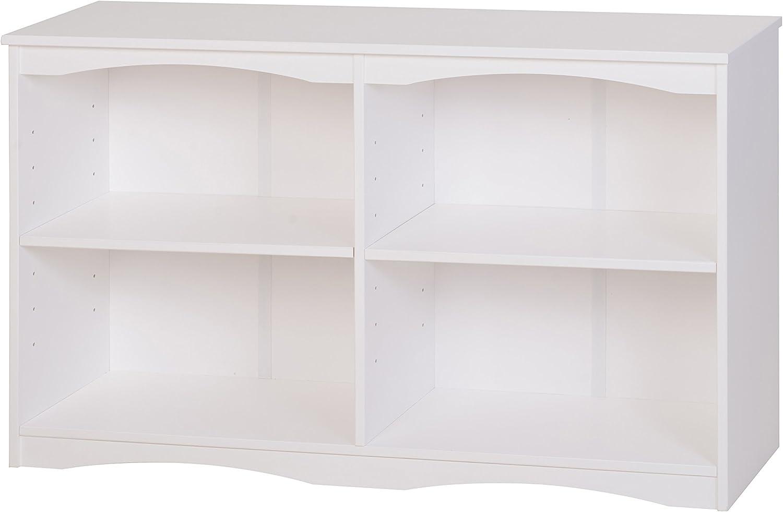 Camaflexi Bookcase, 30.5 H x 51 W x 12 D, White