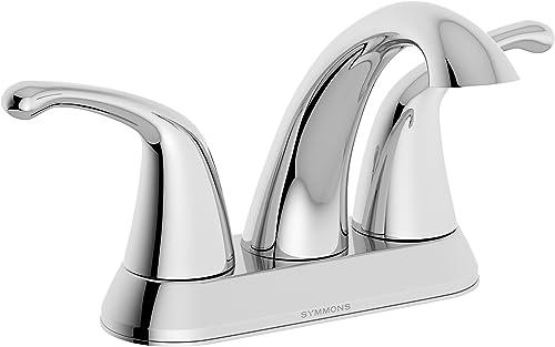 Symmons Unity Two-Handle 4 Inch Centerset Bathroom Faucet, Chrome SLC-6610-1.5