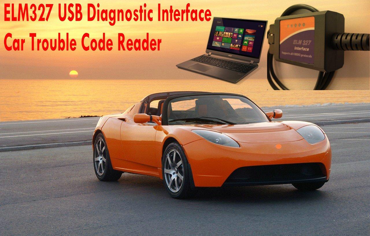 USB Hr-tool /® OBD2 Scanner /Interface de diagnostic automobile ELM327/