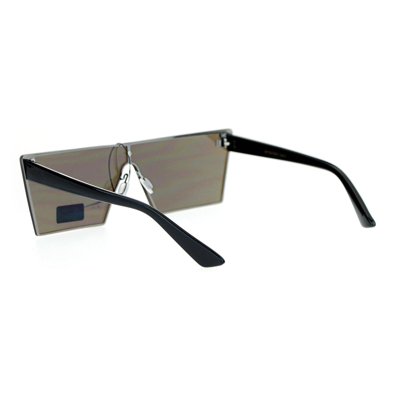Amazon.com: Futurista Fashion anteojos de sol Forma de ...