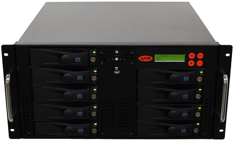 Systor 1 to 8 SATA Hard Disk Drive (HDD/SSD) Rackmount Duplicadora ...