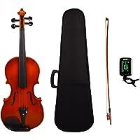 Kadence Vivaldi Violin, Spruce Top Combo (Hard Case, Bow,Rosin and Tuner)
