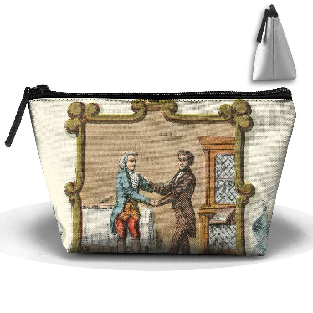 Kentucky State Coat Of Arms Cute Trip Toiletry Bag Trapezoidal Zipper Receive Bag Travel Fashion by BabylLave (Image #1)