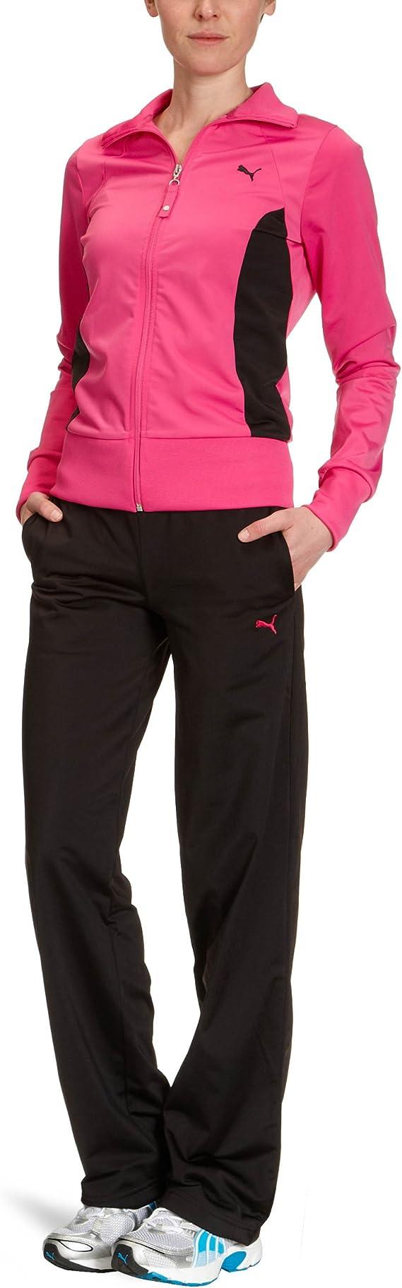 PUMA - Chándal para Mujer, tamaño XS, Color Grosella Rosa - Negro ...
