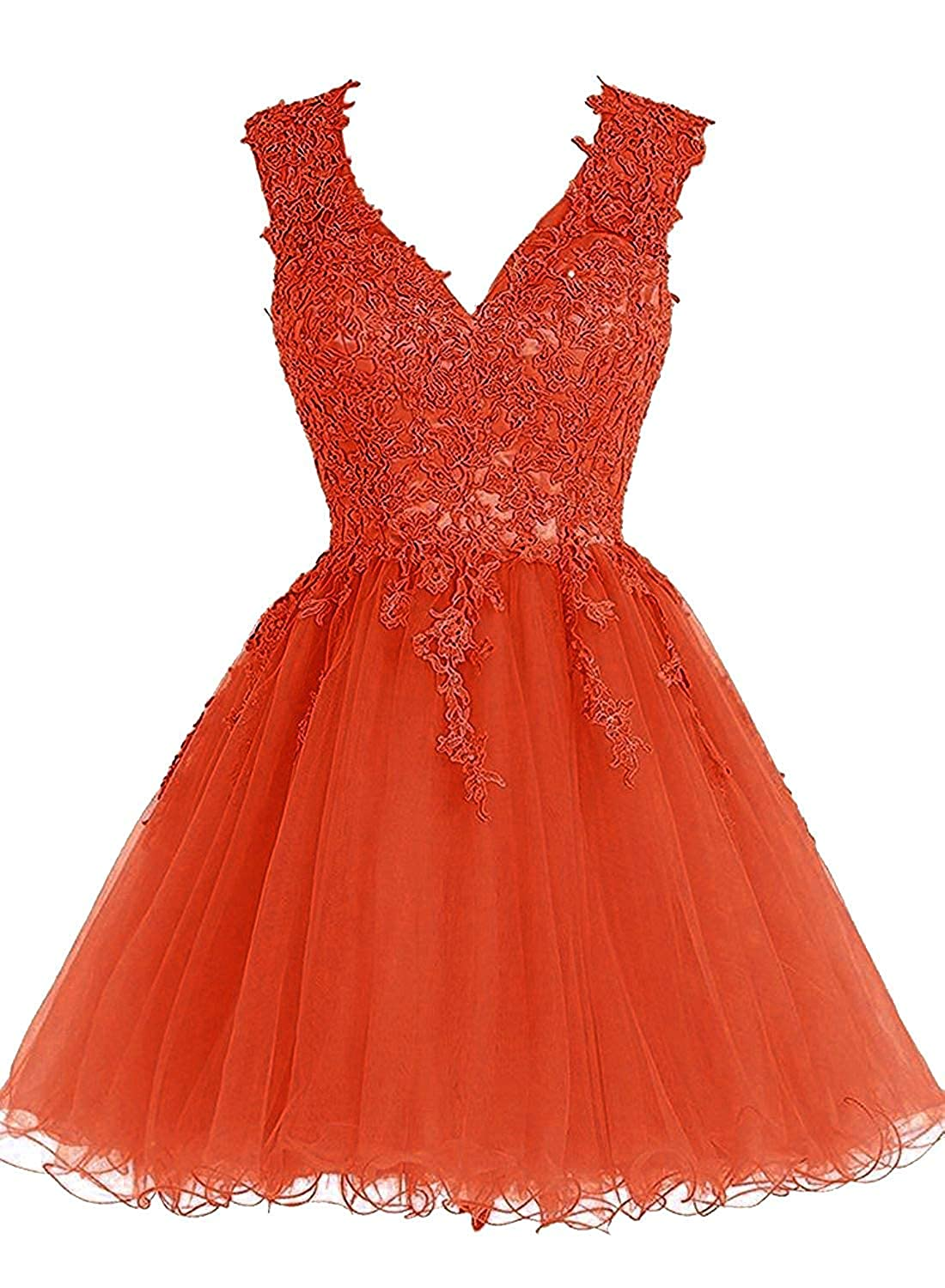 A line Short Homecoming Dresses for Juniors Sleeveless Lace Party Dresses Children Beaded Sash Backless