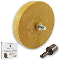 """Decal Remover Eraser Wheel. Remove Car Decals, Vinyl & Stickers in Minutes with The 4"""" Wonder Wheel Toolkit - Arbor…"""