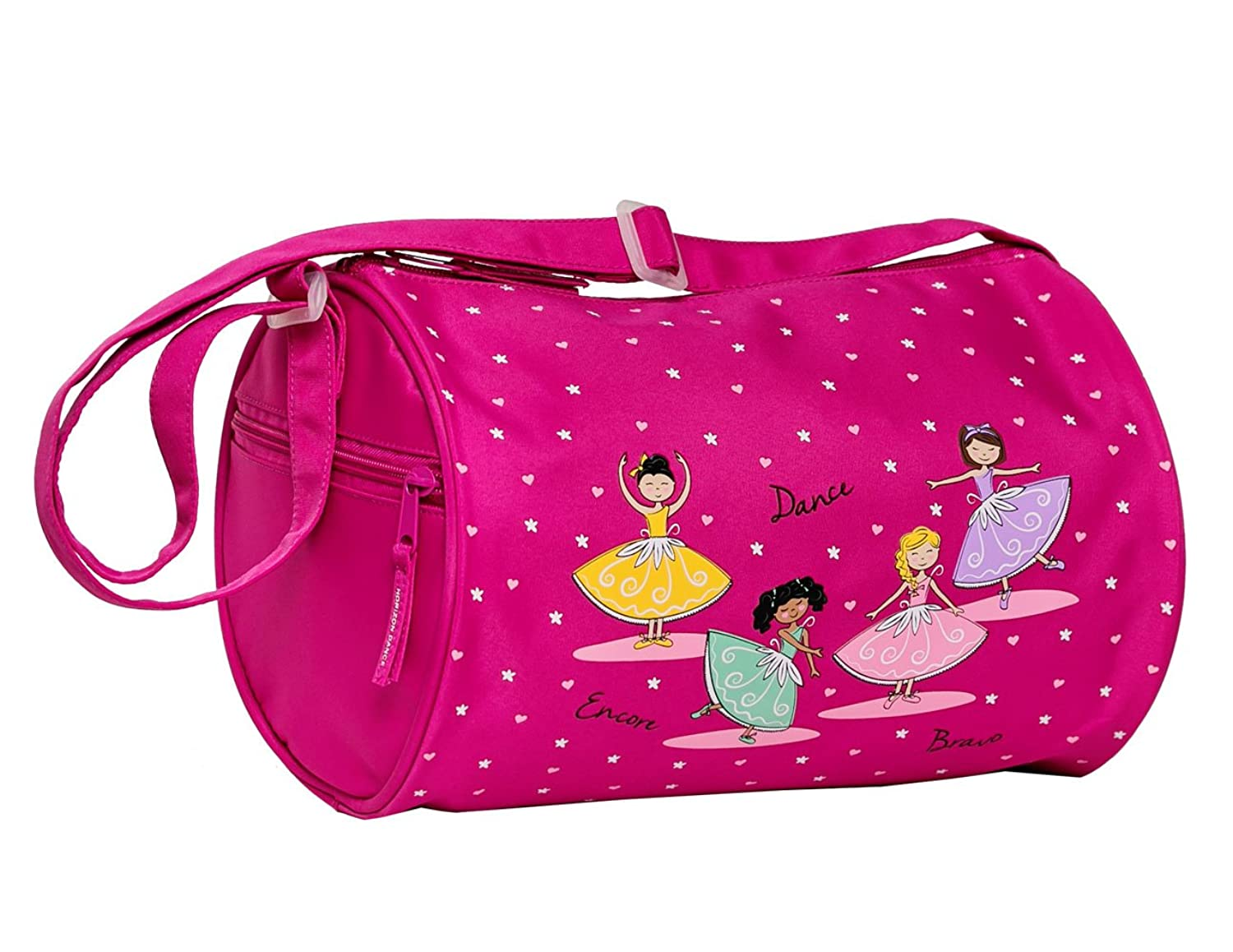 Attractive Amazon.com | Private Label Girl's Quilted Nylon Dance Duffle Bag  QH16