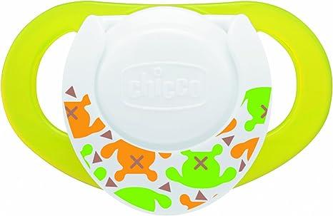 Chicco 5729000000 - Chupetes de silicona con caja protectora esterilizable, 2 unidades, a partir de 4 meses, diseño de tortugas, color verde: Amazon.es: Bebé