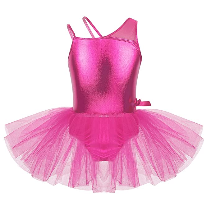 Amazon.com: Freebily Kids Girls One-Piece Glossy One ...