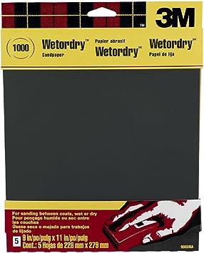 "1 Piece KEEN Abrasives #50150 600 Grit WET DRY SANDPAPER 9/"" X 11/"""