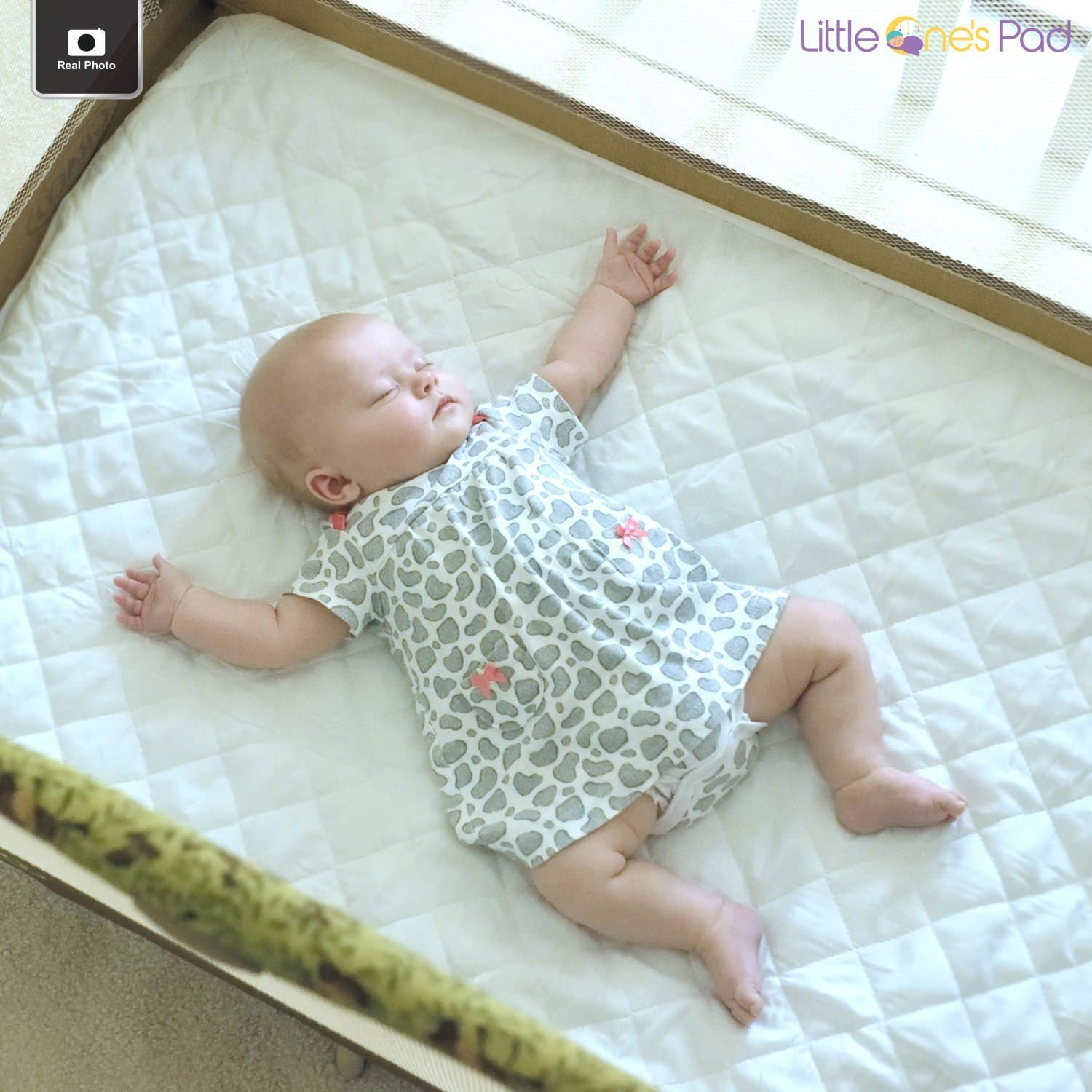 Fitted Pack-n-Play Sheet / Mattress Pad