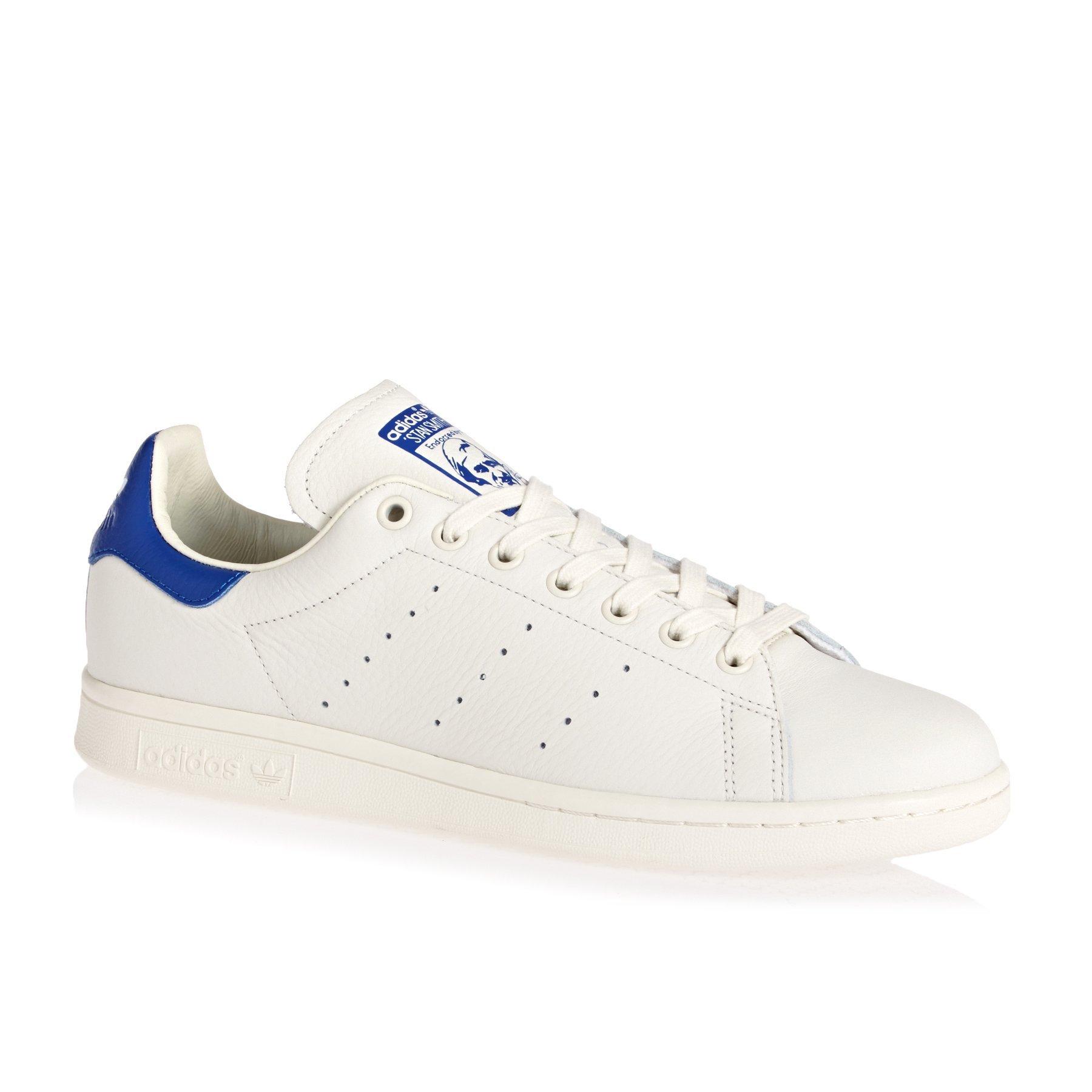 fef6e19634 adidas Originals Stan Smith Shoes 11.5 B(M) US Women / 10.5 D(M) US  Cwhite/cwhite/Croyal