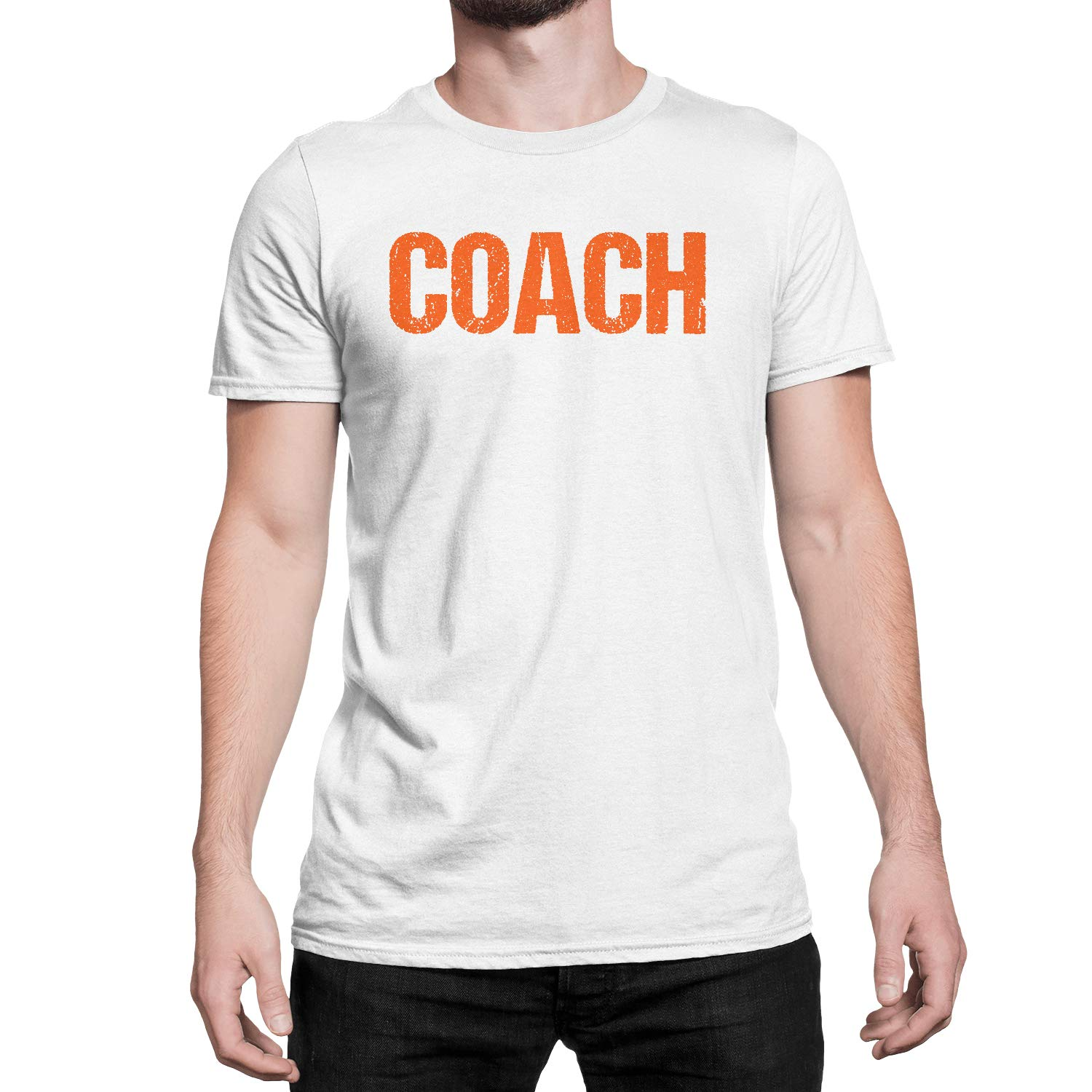 d7c115ac Designed & Screen-Printed in New Jersey, USA Lots of team color  combinations to choose from. COACH printed in bold and distressed letters