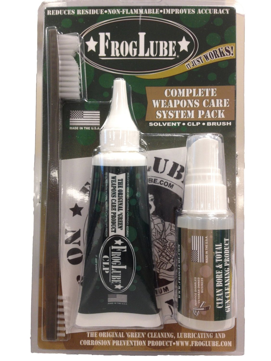 Frog Lube Clamshell Pack System Kit (1 oz Solvent/1.5 oz Extreme Liquid)