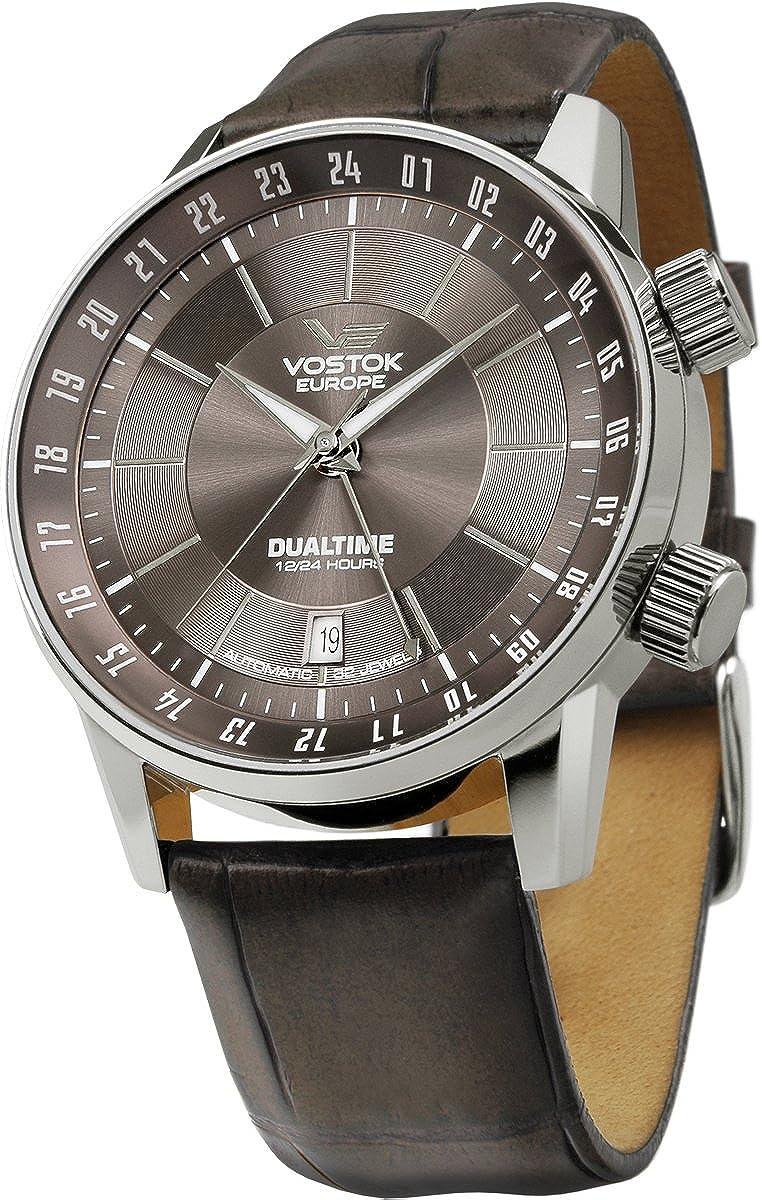 Amazon.com: Vostok Europe - Gaz-14 Limousine - Dual Time - Grey -  2426/5601058: Vostok Europe: Watches