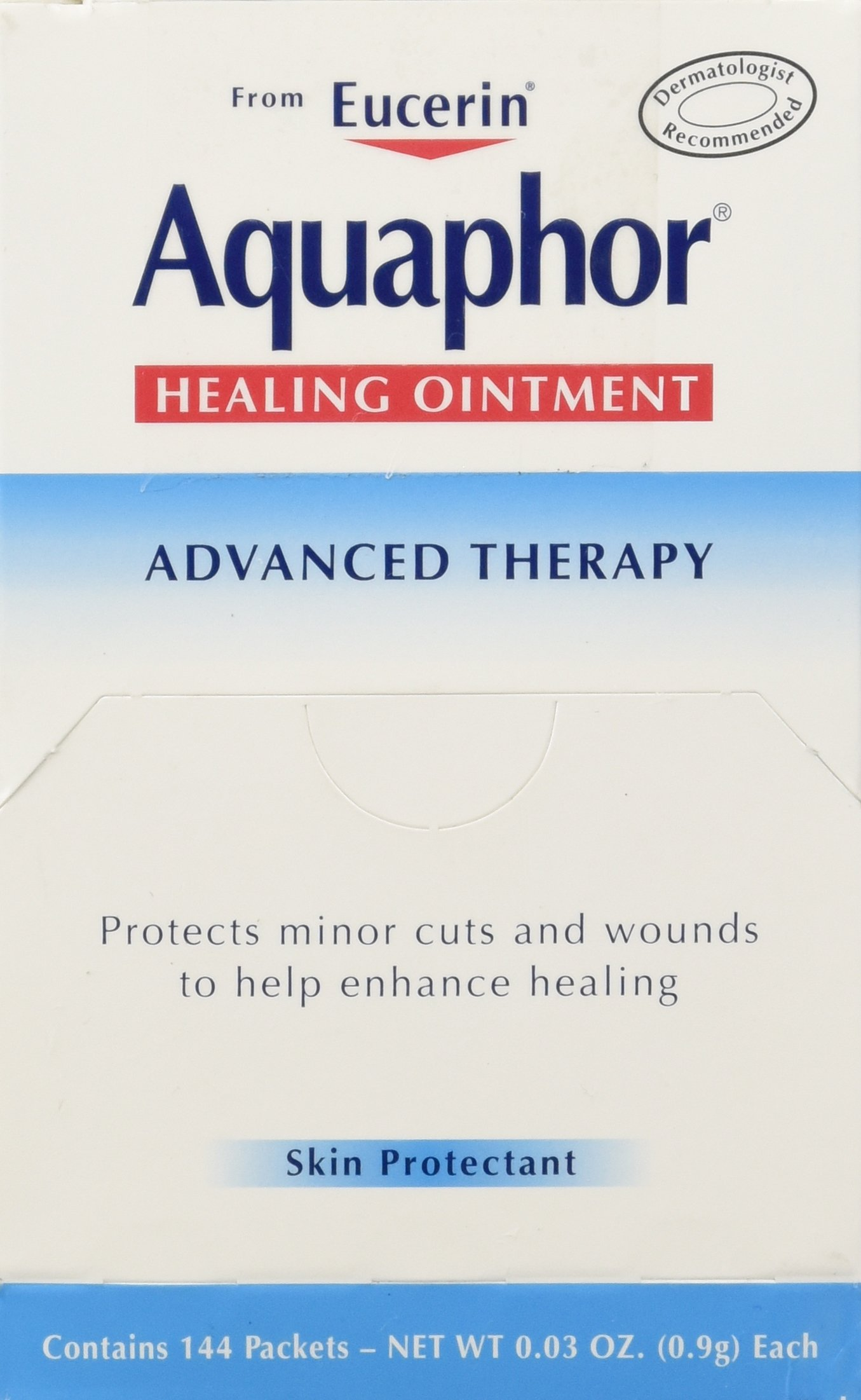 BEIERSDORF Aquaphor Foil Ointments Packets, Net Wt 0.03oz , 144 Count by BEIERSDORF