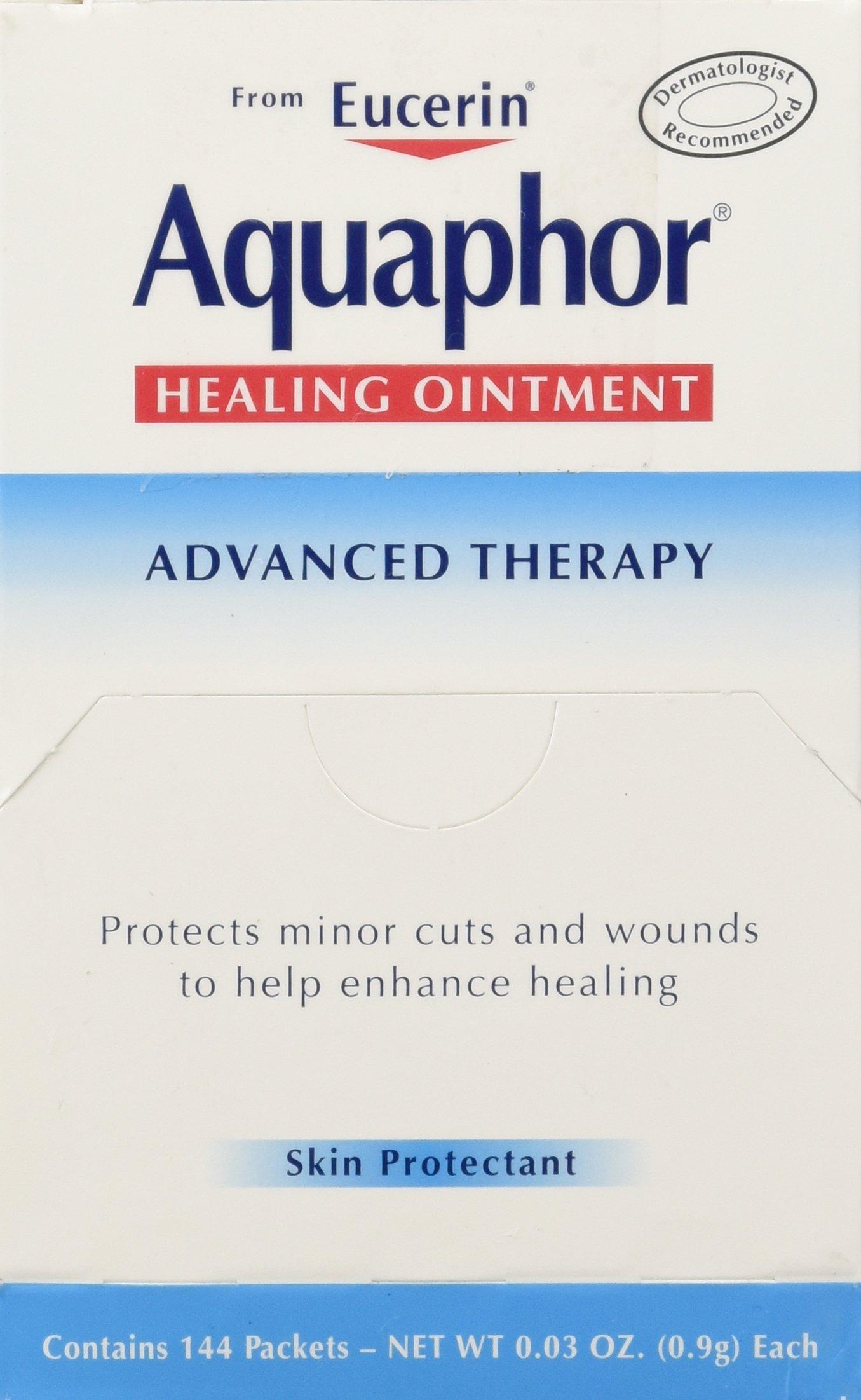BEIERSDORF Aquaphor Foil Ointments Packets, Net Wt 0.03oz , 144 Count