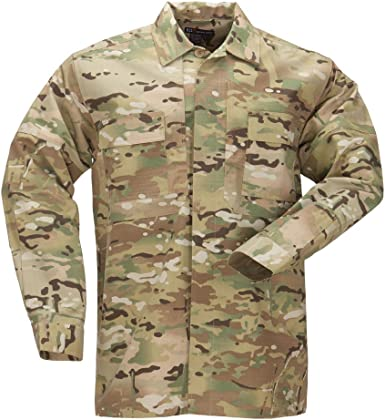 5.11 Tactical #72013 TDU Camiseta de Manga Larga (Multicam), Unisex, 5-72013-169-Multicam-M-, Camuflaje, Medium: Amazon.es: Ropa y accesorios