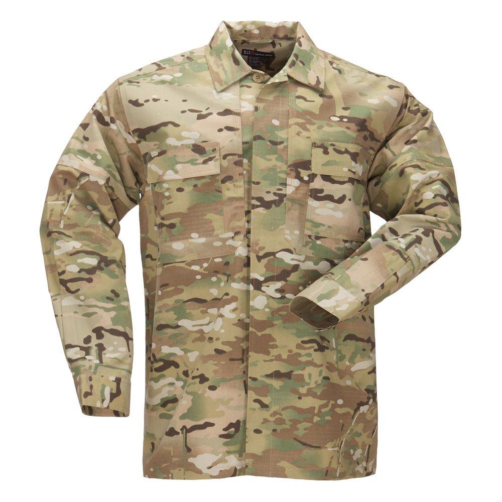 5.11 Tactical #72013 TDU Long Sleeve Shirt (Multicam) 5-72013