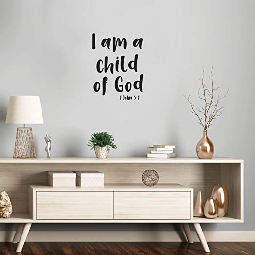 JESUS LOVES ME This I Know Wall Art vinyl Decals Car Window Christ God Bible
