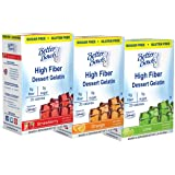 Better Bowls Sugar Free Variety Gelatin, 1.4 ounce (Pack of 6)
