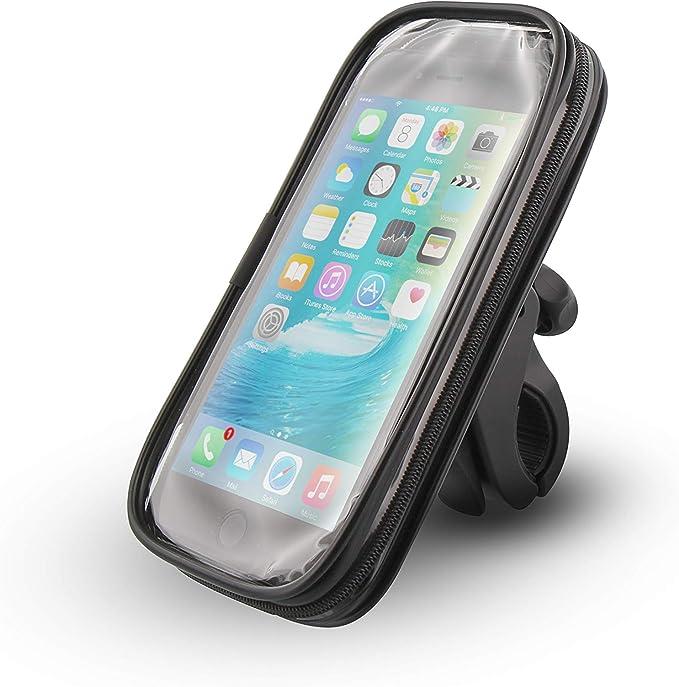 TnB Urban MOOV - Soporte de Smartphones Resistente al Agua para Bicicletas y Scooters. Color Negro.: Amazon.es: Deportes y aire libre