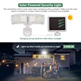 GLORIOUS-LITE 950LM Solar Lights Outdoor, 5500K