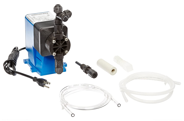 6 GDP Adjustable Single Head 125 Max Strokes//Min Pulsafeeder LB02SA-KTC1 Pulsafeeder Diaphragm Metering Pump ABS Body 150 psi Max Pressure PVDF Head /& Fitting