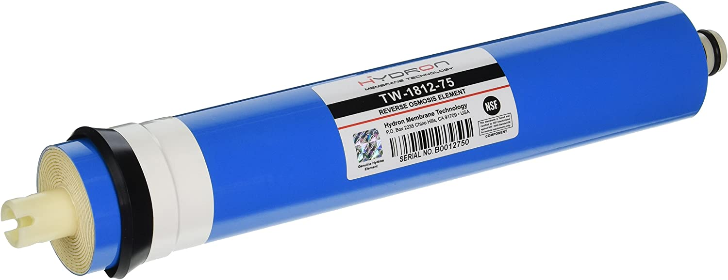 Hydron TW-1812-75D Dry RO Reverse Osmosis Membrane 75 GPD Hydronix Water Technology
