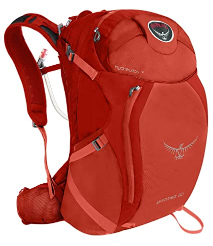 Osprey Packs Women s Skimmer 30 Hydration Pack, Coral Orange, X-Small Small 8210df30f5