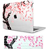 Batianda Macbook Retina 12 インチ専用保護ケース クリスタル ハードシールケース カバー 美しい桜パテントMacBook 新しい12 インチ-(M403-0)