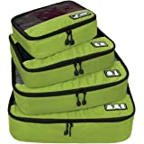BAGSMART Travel 4 Set Packing Cubes, Carry-on Luggage Packing Organizers