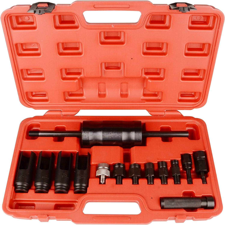 Outil extracteur dinjection 14 pi/èces Bosch Delphi Deso Siemens Injecteur Diesel