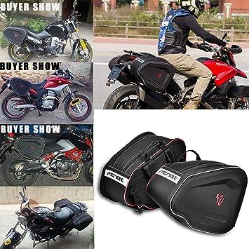 Sillín de moto Bolsas de equipaje expandibles Portátil ...