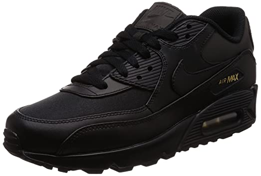 nike air max 90 premium black and gold