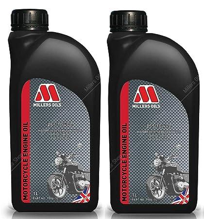 Millers Oils ZSS 4T 10W40 Aceite semisintético para Motor de ...