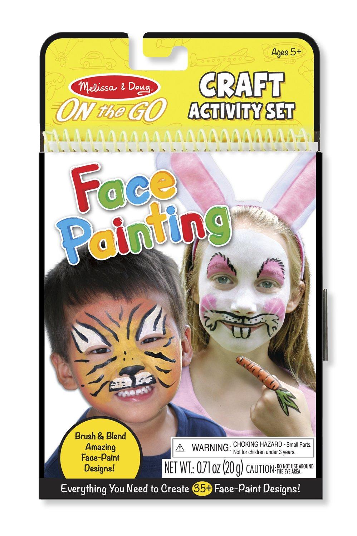 Amazon Com Melissa Doug On The Go Face Painting Craft Activity