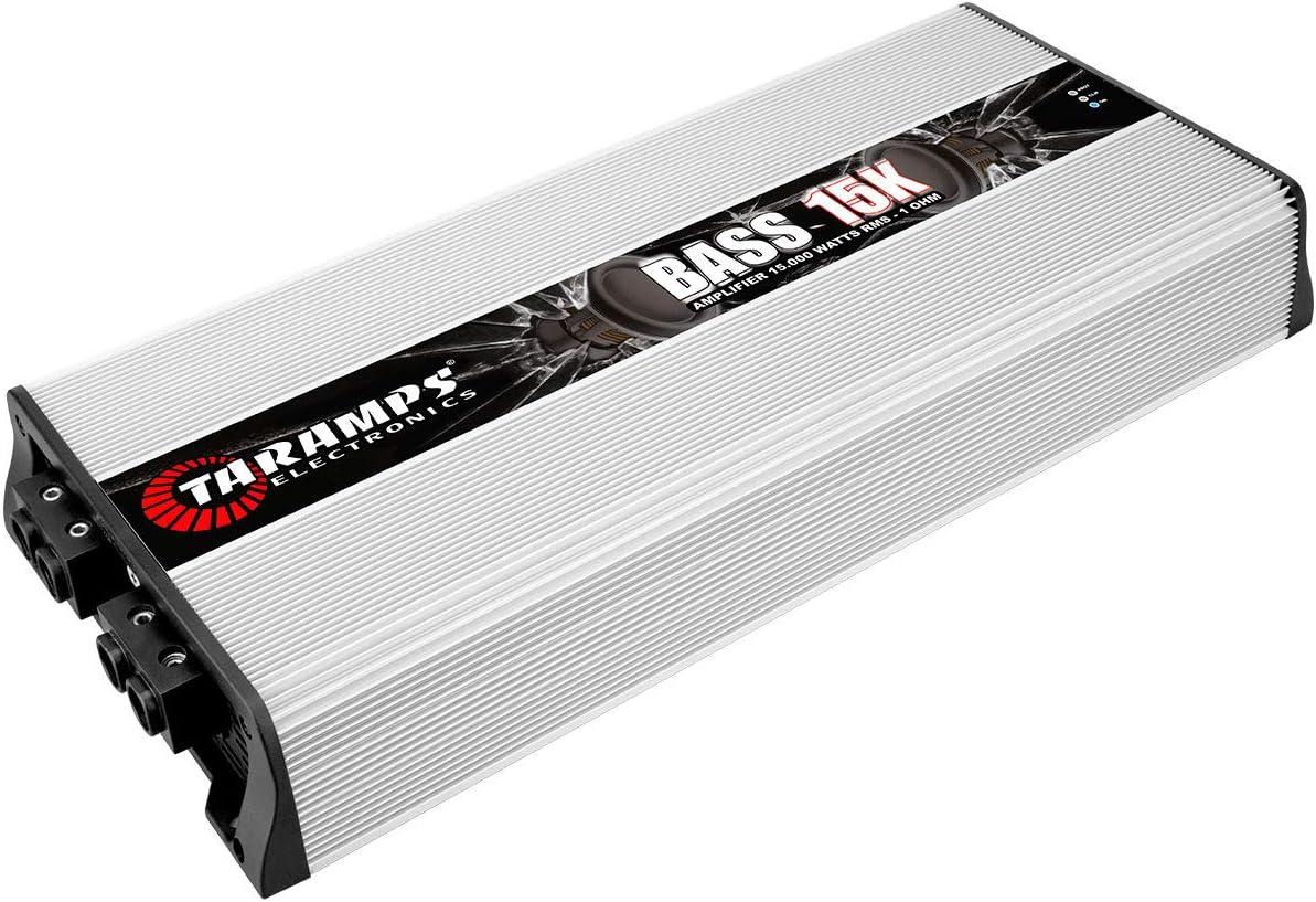 Taramps BASS 15K 1 Ohm 15000 Watts Class D Mono Amplifier
